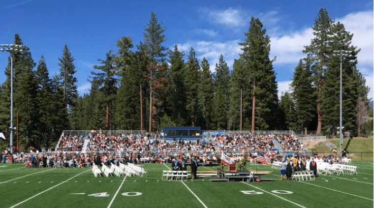 gradutation south tahoe high school 2016