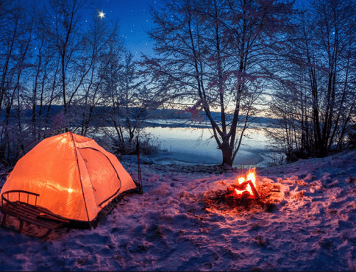 Did you say snow camping?