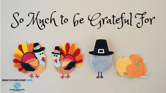So much to be grateful for!