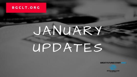 BGCLT January Updates 2019