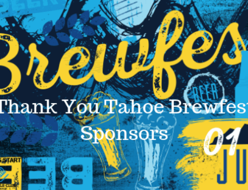 Thank You to all the Tahoe Brewfest Sponsors 2019