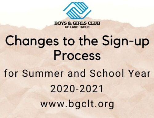 Changes to the Sign-up Process 2020-2021