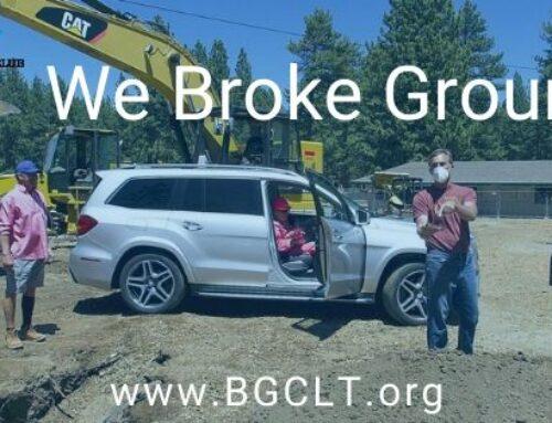 We Broke Ground!